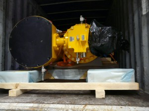 2012 /  National Oilwell Varco   /  several containers – special securing-lashing – dest Malaysia