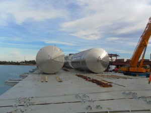 2011 / Empty tanks - Fos sur Mer   to Sebastopol via Part Charter vessel – 90 tons