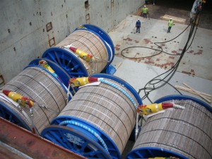 Tourets - 20 x Cable Rills 1720 tons  86 tons per unit  loading at Fos sur Mer for Full charter to Lobito