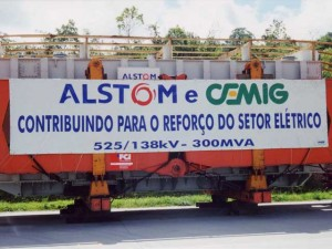 1999-2000 / Brasil job site Choloma Power Plant. 4500 cbm including transfo 250 tons via Charter vessel