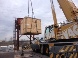2012 / Compressors Ex-Thermodyn to Samsung –2 x 110 tons ++ equipment to East Asia